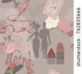 beginning of century on seamless | Shutterstock .eps vector #762835666