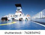 saint malo  brittany  france  ... | Shutterstock . vector #762856942