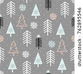 seamless repeating pattern with ... | Shutterstock .eps vector #762895546