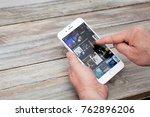 berlin  germany   november 26 ...   Shutterstock . vector #762896206