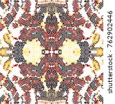 mosaic colorful pattern for... | Shutterstock . vector #762902446
