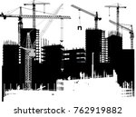 illustration with house... | Shutterstock .eps vector #762919882