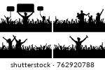 crowd people applause concert...   Shutterstock .eps vector #762920788