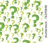 question sign. art 3d...   Shutterstock .eps vector #76295848
