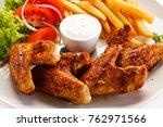 Grilled Chicken Wings With...