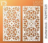 ornamental panels template for... | Shutterstock .eps vector #762997225