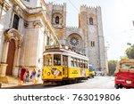 lisbon  portugal   september 28 ... | Shutterstock . vector #763019806