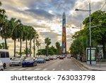 santo domingo   dominican... | Shutterstock . vector #763033798