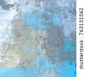 oil painting on canvas handmade.... | Shutterstock . vector #763131562