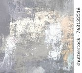oil painting on canvas handmade.... | Shutterstock . vector #763132516