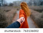 follow me. travel concept. back ...   Shutterstock . vector #763136002