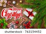 vector illustration of... | Shutterstock .eps vector #763154452