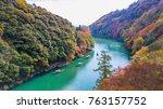 arashiyama  kyoto  japan. | Shutterstock . vector #763157752