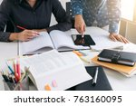 education  teaching  learning ... | Shutterstock . vector #763160095