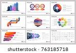 modern elements of infographics ... | Shutterstock .eps vector #763185718