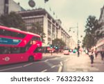 blur background of people on... | Shutterstock . vector #763232632