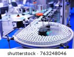 factory for the production of... | Shutterstock . vector #763248046