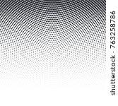 vector pop art dotted halftone... | Shutterstock .eps vector #763258786