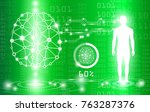 abstract background technology... | Shutterstock .eps vector #763287376