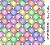 seamless pattern of interwoven... | Shutterstock .eps vector #76329187