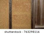 wattle and daub. the earth wall ... | Shutterstock . vector #763298116