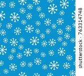 simple winter background.... | Shutterstock .eps vector #763314748