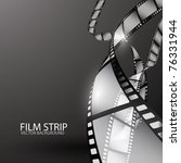 abstract film strip | Shutterstock .eps vector #76331944