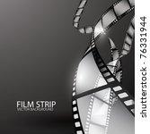 abstract film strip | Shutterstock .eps vector #76331944