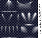 scene illumination collection ... | Shutterstock .eps vector #763361596