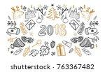 sketchy raster copy hand drawn... | Shutterstock . vector #763367482