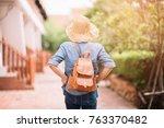 traveler and tourist asian...   Shutterstock . vector #763370482