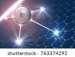 vector illustration including... | Shutterstock .eps vector #763374292