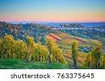 lush vineyards in southen...   Shutterstock . vector #763375645