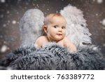 Sweet Little Girl With Angel...