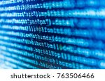 Small photo of Javascript functions, variables, objects. Monitor closeup of function source code. IT specialist workplace. Big data and Internet of things trend. HTML website structure. Website programming code.