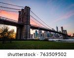 Brooklyn Bridge Skyline During...