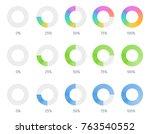 vector set illustration with... | Shutterstock .eps vector #763540552