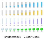 vector set illustration with... | Shutterstock .eps vector #763540558