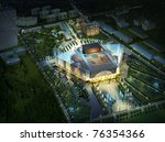 3d building landscape | Shutterstock . vector #76354366