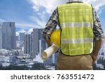 close up engineers working on a ...   Shutterstock . vector #763551472