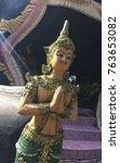 Small photo of Angel, Wat Panonesa-ard,Thailand