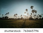 dong tan  pathum thani | Shutterstock . vector #763665796