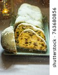 German Christmas Stollen With...