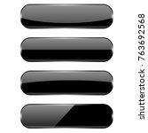 Black Oval Buttons With...