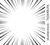 comic radial speed lines vector ... | Shutterstock .eps vector #763698196