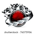 rally emblem  10eps   Shutterstock .eps vector #76375936