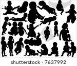 baby | Shutterstock .eps vector #7637992