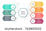 business infographics.... | Shutterstock .eps vector #763805032
