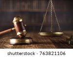 beautiful antique gavel made of