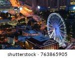atlanta  georgia   united... | Shutterstock . vector #763865905